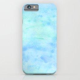 ocean water color iPhone Case