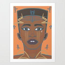 E. Gyptian Art Print