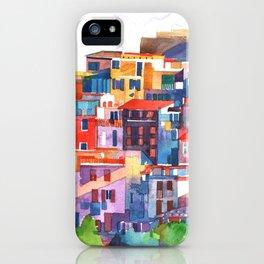 Cinque Terre vol2 iPhone Case