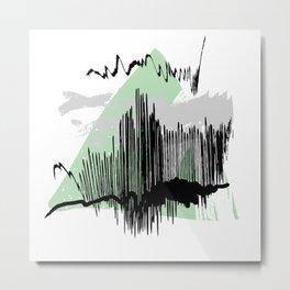 Green mess Metal Print