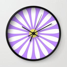 A Daisy Wall Clock