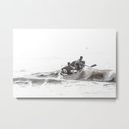 Wave riders Metal Print