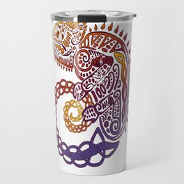Celtic Chameleon Travel Mug