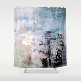 Session 29: Twisted Future (Flux in the Battlemarket) Shower Curtain