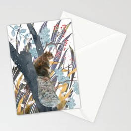 waiting for autumn Stationery Cards