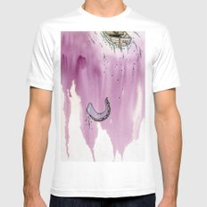 The Waterfall Mens Fitted Tee White MEDIUM