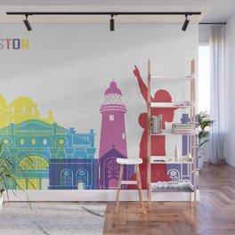 Kingston skyline pop Wall Mural