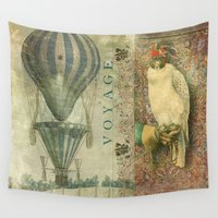 voyage Wall Tapestries featuring Voyage by Aimee Stewart