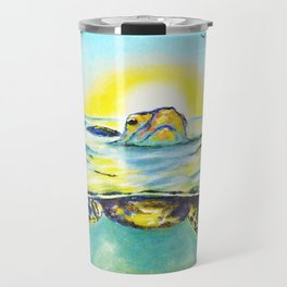 Keep Your Head Above Water. You Got This Travel Mug