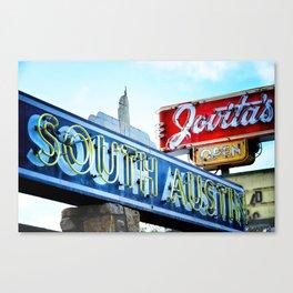 South Austin Neon Canvas Print