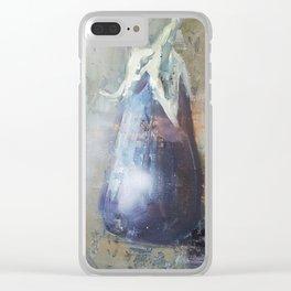 Aubergine Clear iPhone Case