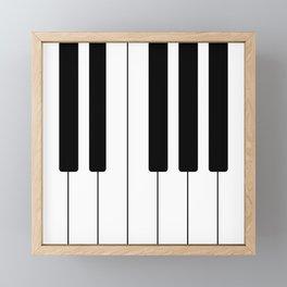 Piano Keys - Music Framed Mini Art Print