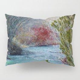 Mountian Stream (This Way to Paradise) - Jeronimo Rubio Photography 2016 Pillow Sham