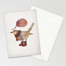 Joy to the World Stationery Cards