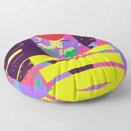 Space: the final frontier Floor Pillow
