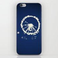 ferris wheel iPhone & iPod Skins featuring Ferris Wheel  by Lauren Lee Design's