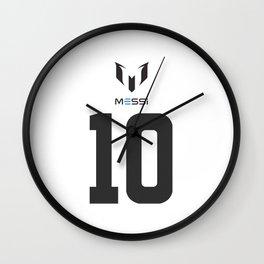 Messi 10 Wall Clock