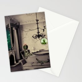 Ever Being, Always Seeing, Never Dying Stationery Cards