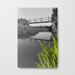 The River Roding Essex Metal Print