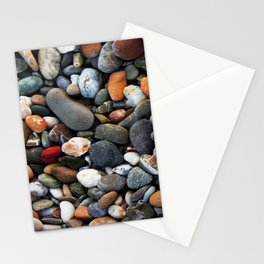 Stone multicolored nature Pattern Stationery Cards