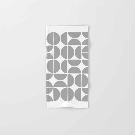 Mid Century Modern Geometric 04 Grey by theoldartstudio