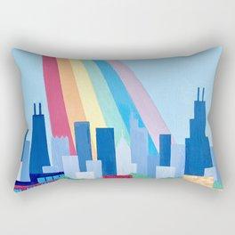 Bless This City Rectangular Pillow