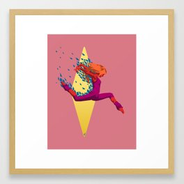 Jaunty Framed Art Print