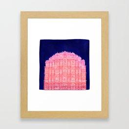 Hawa Mahal, Indian Palace of the winds Framed Art Print