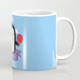 Penguin table tennis from SYDNEY T-Shirt Coffee Mug