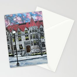 Kent Hall at University of Chicago by Mike Kraus - art UChicago Hyde Park Illinois Midwest College Stationery Cards