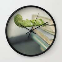 books Wall Clocks featuring Books by Pure Nature Photos