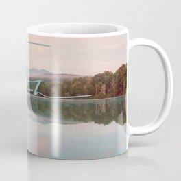 Faith - Smoky Mountains Lake at Dawn Nature Photography Quote Coffee Mug