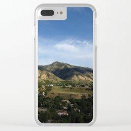 Springtime Overlook Clear iPhone Case
