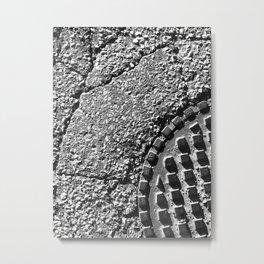 The Image Has Crack'd part 4 Metal Print