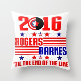 2016 BARNES RODGERS Throw Pillow