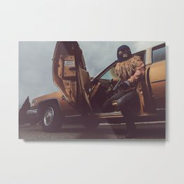 The Heist Part III Metal Print