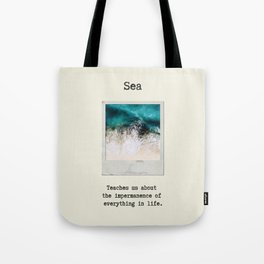 Small Emotional Dictionary: Sea Tote Bag