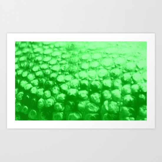 Croc Abstract II Art Print