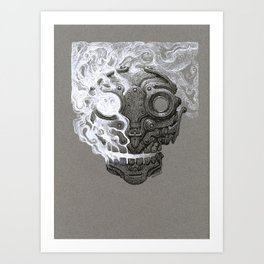 Escaping Soul Art Print