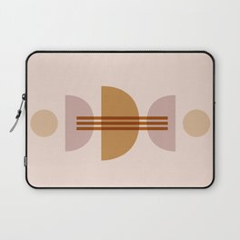 Amber Abstract Half Moon 1 Laptop Sleeve