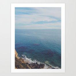 Malibu Days Art Print