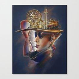 The Thrill Canvas Print