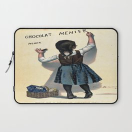 Vintage poster - Chocolat Menier Laptop Sleeve
