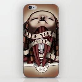 Keep Your Chin Up iPhone Skin