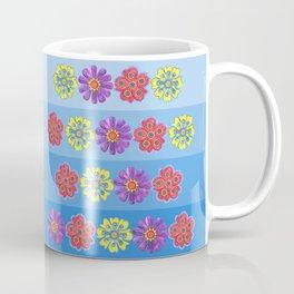 Stacks of Flowers Coffee Mug