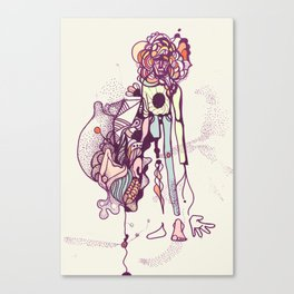 I'm a piece of everything  Canvas Print