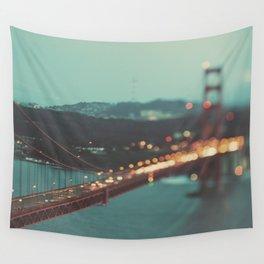 San Francisco Golden Gate Bridge, Sweet Light Wall Tapestry