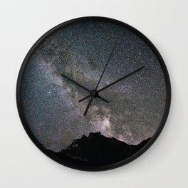 Night in Switzerland Wall Clock
