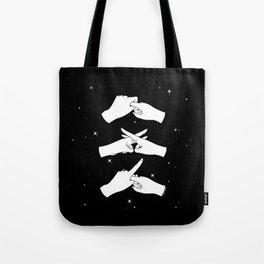 Love Fingers Tote Bag