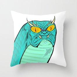 A Free Snake Throw Pillow